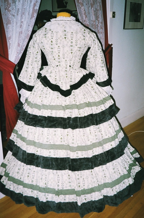 1860s Reproduction Day Dress