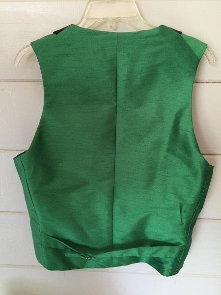 Green victorian waistcoat