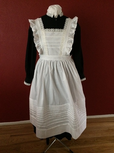1910s Reproduction Edwardian Maid Front.