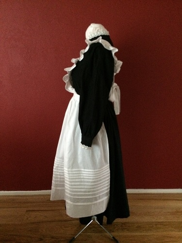 1910s Reproduction Edwardian Maid Left.