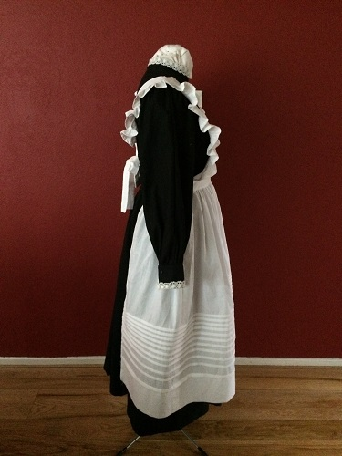 1910s Reproduction Edwardian Maid Right.