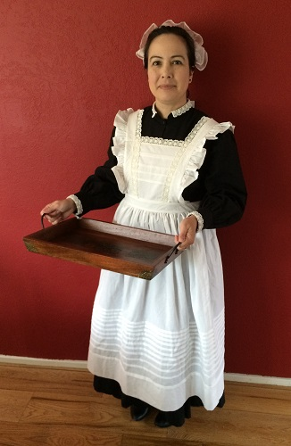 1910s Reproduction Edwardian Maid
