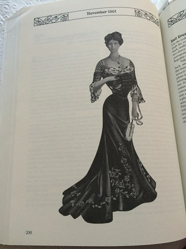 1901 bodice pattern inspiration from The Voice of Fashion